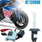 Kit Xenon Moto 12V 35W H7 12000K