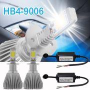 Par Lâmpada Super Led 4400 Lumens 12V 24V Hb4 6000K