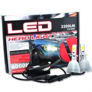 Par Lâmpada Super Led 6400 Lumens 12V 24V 32W Velox Parts H3 6000K