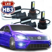 Par Lâmpada Super Led 7400 Lumens 12V 24V HB3 9005 6000K