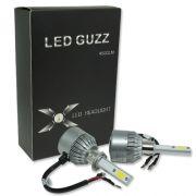 Par Lâmpada Super Led 9000 Lumens 12V 24V 40W Guzz H1 6000K