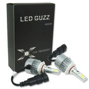 Par Lâmpada Super Led 9000 Lumens 12V 24V 40W Guzz HB3 9005 6000K