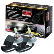 Par Lâmpada Super Led 9000 Lumens 12V 24V 50W Shocklight Power Led 3D H8 6000K