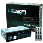 Rádio Mp3 Automotivo Bluetooth Uber UB-11RB Sd Usb Aux Controle