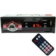 Rádio Mp3 Player Automotivo Toca Som First Option 8660 Fm Usb Sd Aux Controle