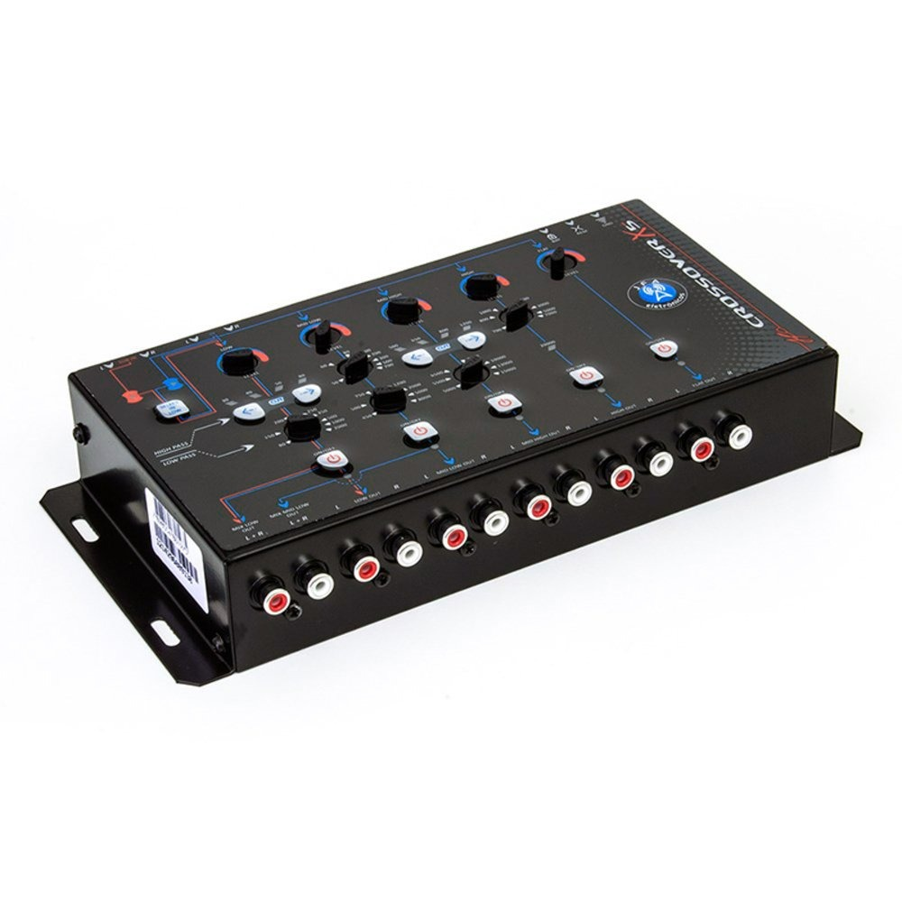Crossover Digital Eletrônico de 5 vias Jfa X5 Bass  - BEST SALE SHOP