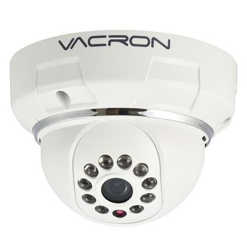 Câmera IP Dome Prossional Interna 1MP 2,8mm 1_4 720p HD Vacron VIH-DM281A Branco  - BEST SALE SHOP
