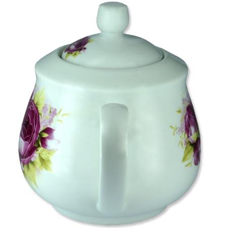 Chaleira de Porcelana Brilho de Diamante Bcyc-1606 Branco 650Ml  - BEST SALE SHOP