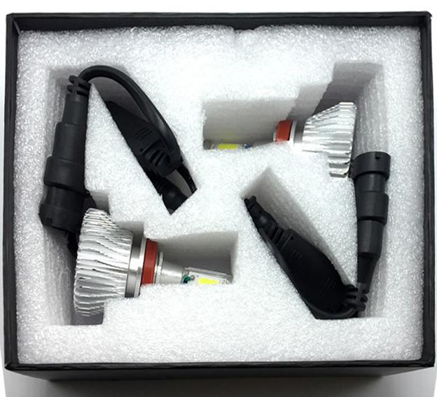 Par Lâmpada Super Led 6400 Lumens 12V 24V H7 6000K  - BEST SALE SHOP