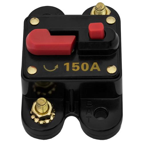 Disjuntor Automotivo 150A Proteção Som Resetável Liga Desliga  - BEST SALE SHOP