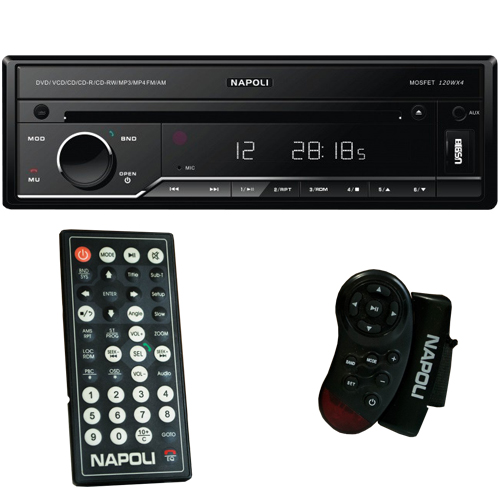 Dvd Automotivo 1 Din 7.0 Retrátil Napoli DVD-TV 7998 BT Sd Usb Bluetooth Tv Analógica - BEST SALE SHOP