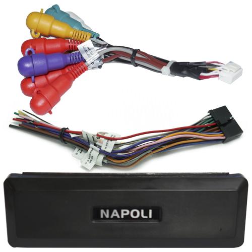 Dvd Automotivo 1 Din 7.0 Retrátil Napoli DVD-TV 7998 BT Sd Usb Bluetooth Tv Analógica  - BEST SALE SHOP