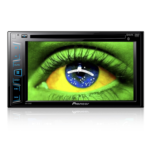 Dvd Automotivo 2 Din 6.2 Pioneer Avh-278Bt Bluetooth  - BEST SALE SHOP