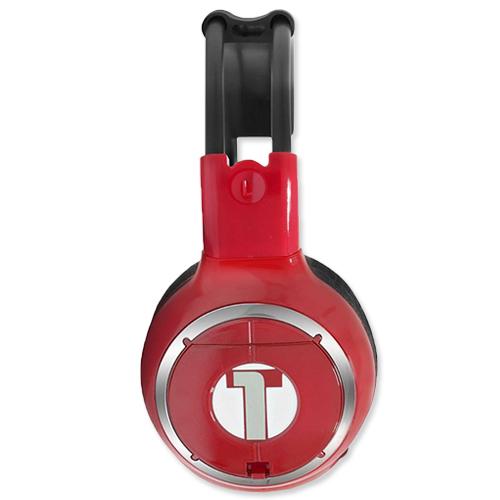 Fone De Ouvido Sem Fio Via IR Infravermelho Tech One T1DVHPSFCH Cherry Vermelho  - BEST SALE SHOP
