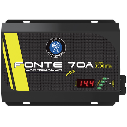 Fonte Carregador Bateria Jfa 70A  - BEST SALE SHOP