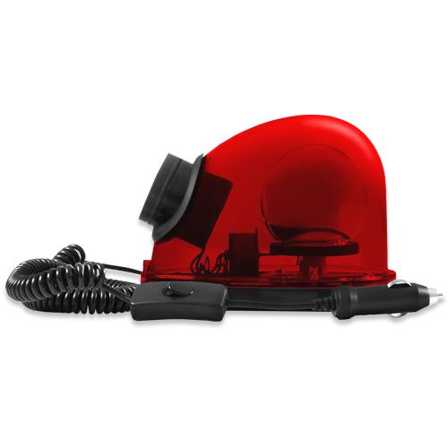 Giroflex Sinalizador Luz Emergência 12V Com Sirene Tech One T1GFCSVM Vermelho  - BEST SALE SHOP