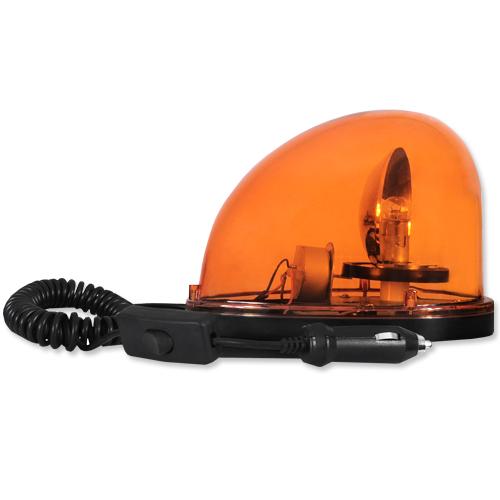 Giroflex Sinalizador Luz Emergência 12V Sem Sirene Tech One T1GFSSLA Laranja  - BEST SALE SHOP