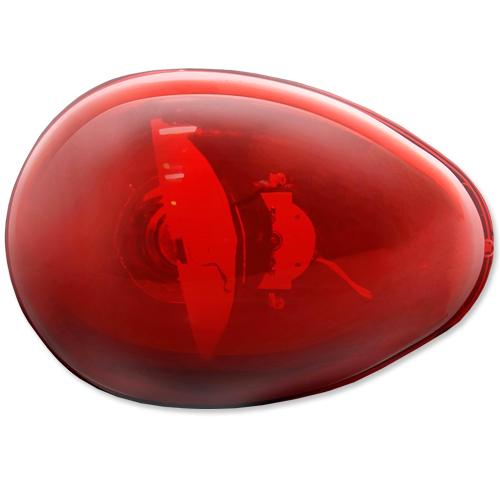 Giroflex Sinalizador Luz Emergência 12V Sem Sirene Tech One T1GFSSVM Vermelho  - BEST SALE SHOP