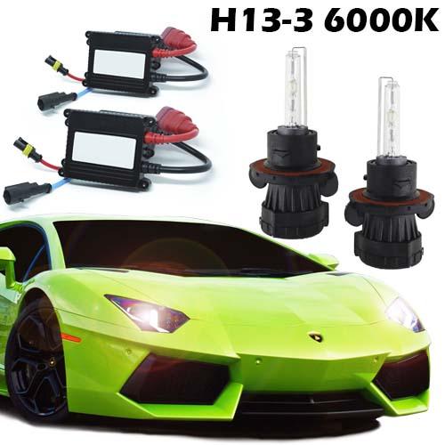 Kit Bi Xenon Carro 12V 35W H13-3 6000K  - BEST SALE SHOP