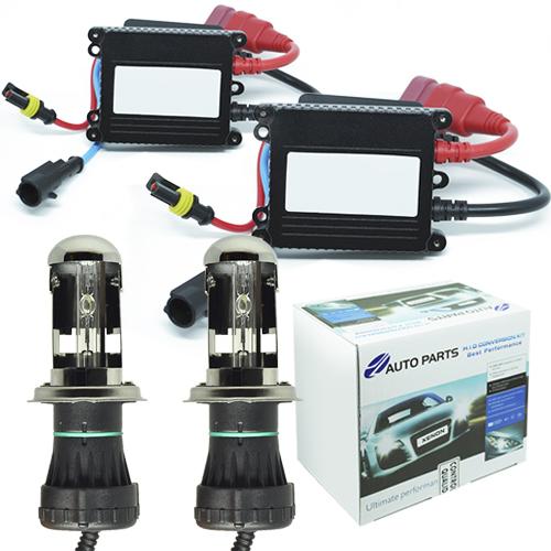 Kit Bi Xenon Carro 12V 35W Jl Auto Parts H4-3 10000K  - BEST SALE SHOP