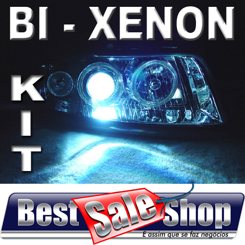 Kit Bi Xenon Carro 12V 35W Rayx H4-3 6000K  - BEST SALE SHOP