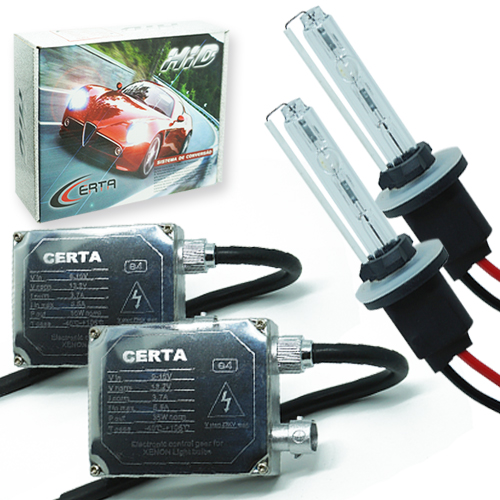 Kit Xenon Carro 12V 35W Certa H27 6000K  - BEST SALE SHOP