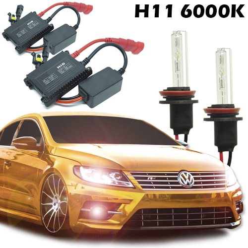 Kit Xenon Carro 12V 35W H11 6000K - BEST SALE SHOP
