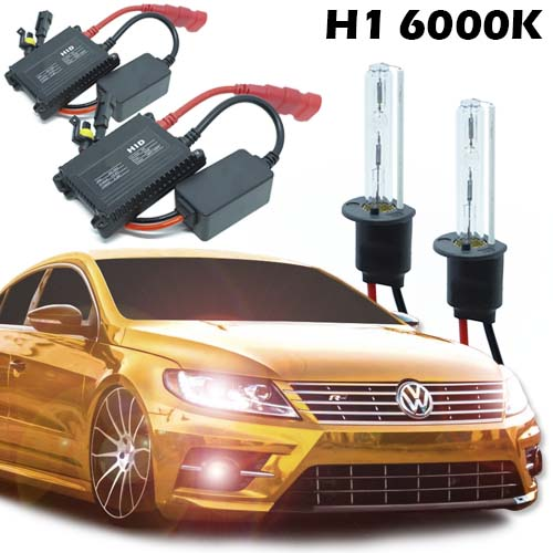 Kit Xenon Automotivo Carro H1 6000K 12V com Reator e Lâmpada  - BEST SALE SHOP