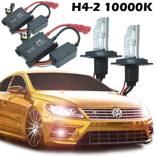 Kit Xenon Carro 12V 35W H4-2 10000K  - BEST SALE SHOP