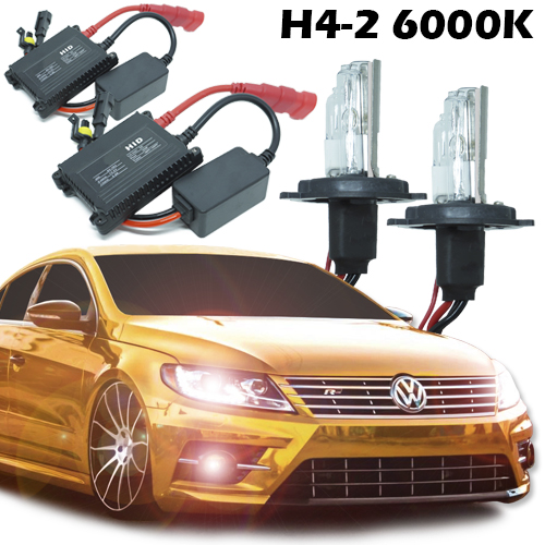 Kit Xenon Carro 12V 35W H4-2 6000K  - BEST SALE SHOP
