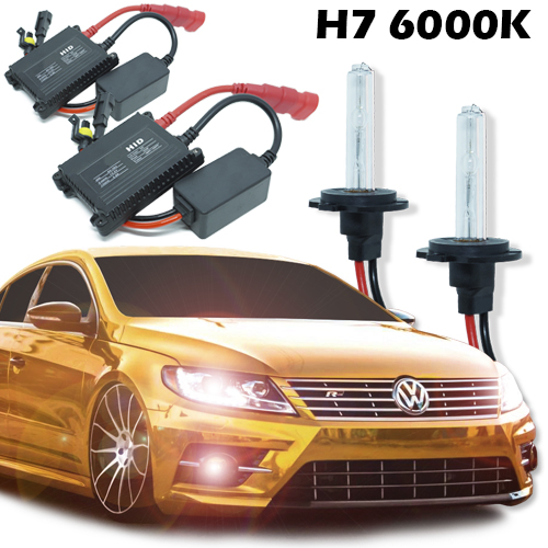 Kit Xenon Carro 12V 35W H7 6000K  - BEST SALE SHOP