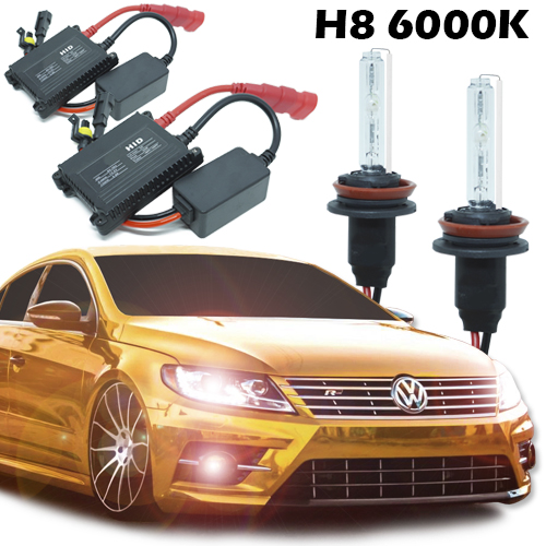 Kit Xenon Carro 12V 35W H8 6000K  - BEST SALE SHOP