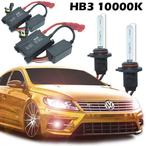 Kit Xenon Carro 12V 35W Hb3-9005 10000K  - BEST SALE SHOP