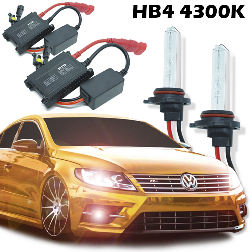 Kit Xenon Carro 12V 35W Hb4-9006 4300K  - BEST SALE SHOP