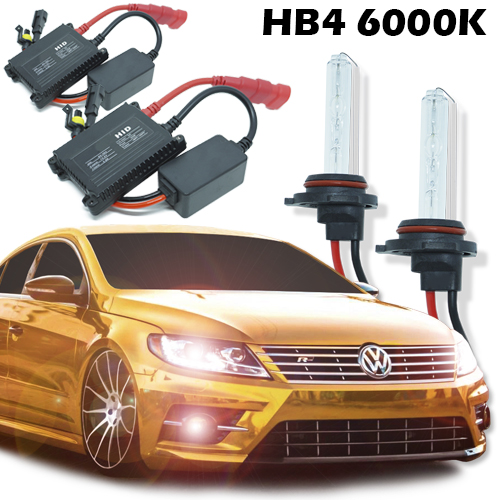 Kit Xenon Carro 12V 35W Hb4-9006 6000K - BEST SALE SHOP