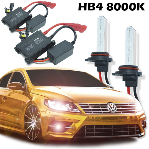 Kit Xenon Carro 12V 35W Hb4-9006 8000K  - BEST SALE SHOP