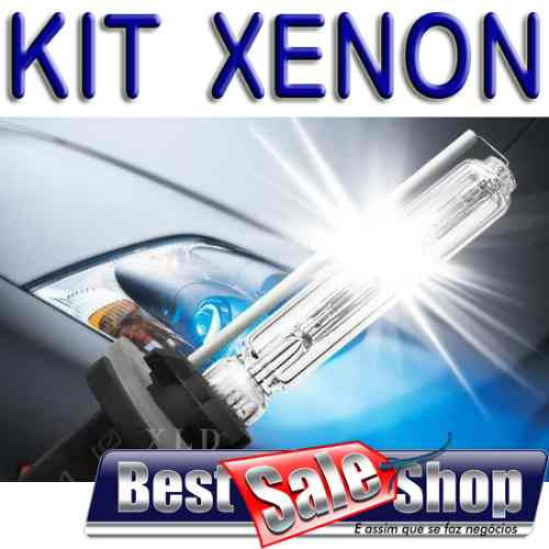 Kit Xenon Carro 12V 35W Importado H1 6000K  - BEST SALE SHOP