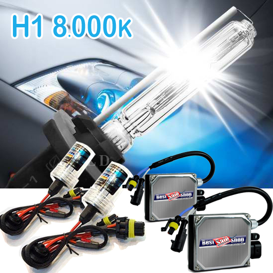 Kit Xenon Carro 12V 35W Importado H1 8000K  - BEST SALE SHOP
