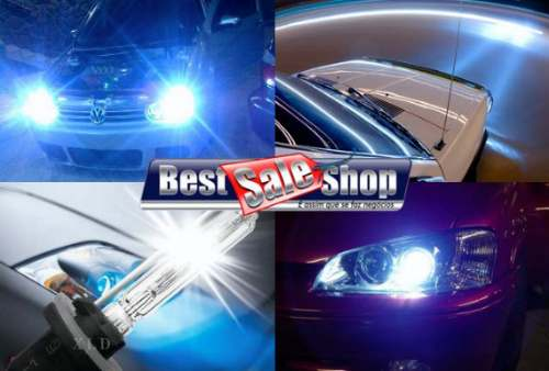 Kit Xenon Carro 12V 35W Importado H4-2 6000K - BEST SALE SHOP