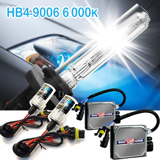 Kit Xenon Carro 12V 35W Importado Hb4-9006 6000K  - BEST SALE SHOP