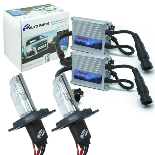 Kit Xenon Carro 12V 35W Jl Auto Parts H4-2 8000K  - BEST SALE SHOP