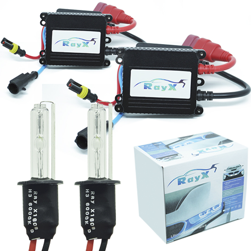 Kit Xenon Carro 12V 35W Rayx H3 6000K  - BEST SALE SHOP