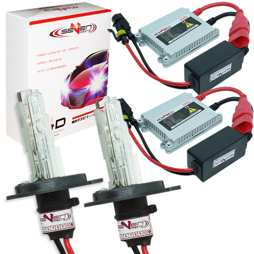 Kit Xenon Carro 12V 35W Seven Parts H4-2 4300K  - BEST SALE SHOP