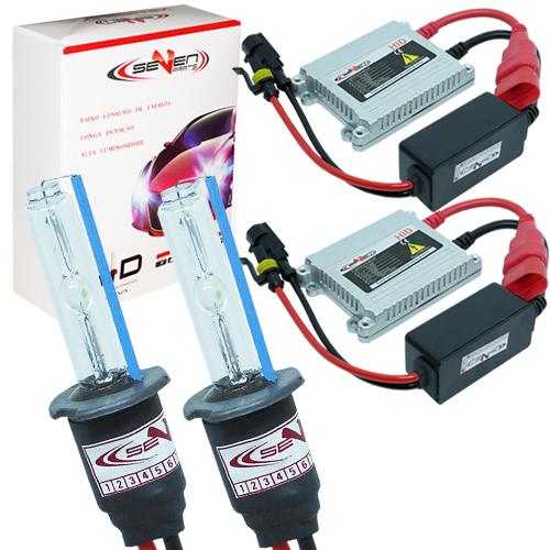 Kit Xenon Carro 12V 35W Seven Parts H7 8000K  - BEST SALE SHOP
