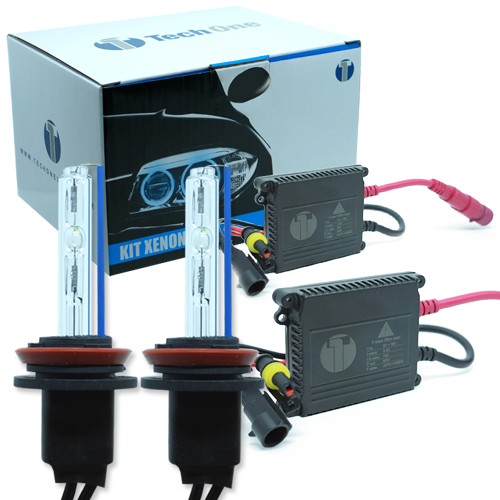 Kit Xenon Carro 12V 35W Tech One H11 8000K  - BEST SALE SHOP