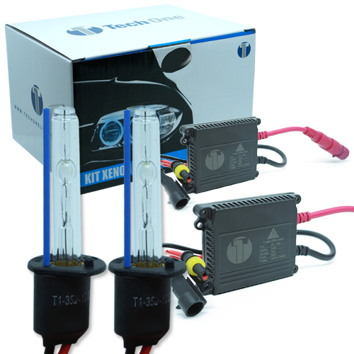 Kit Xenon Carro 12V 35W Tech One H1 8000K  - BEST SALE SHOP