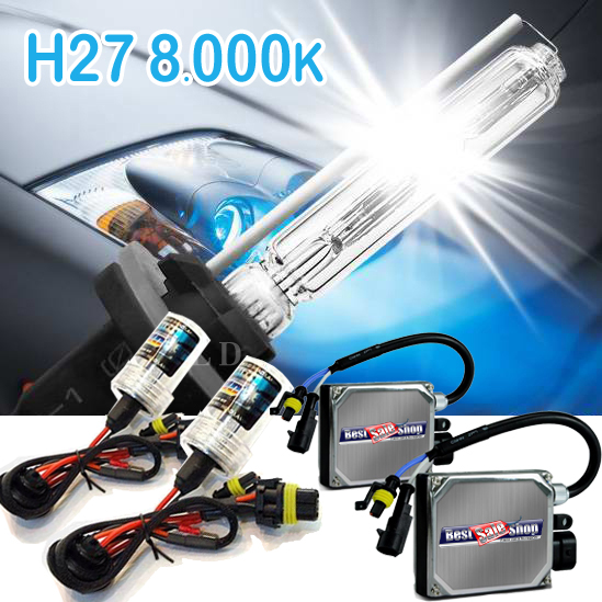 Kit Xenon Carro 12V 35W Tech One H27 8000K  - BEST SALE SHOP