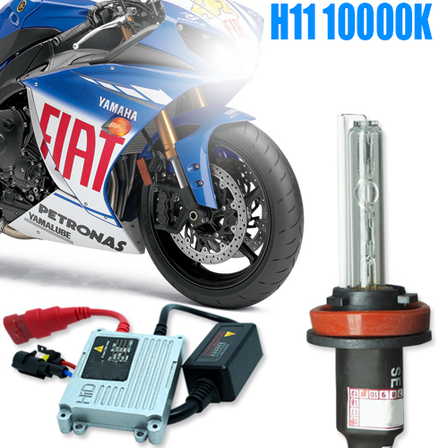 Kit Xenon Moto 12V 35W H11 10000K  - BEST SALE SHOP