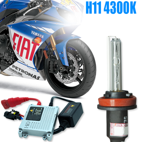 Kit Xenon Moto 12V 35W H11 4300K  - BEST SALE SHOP