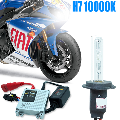 Kit Xenon Moto 12V 35W H7 10000K  - BEST SALE SHOP
